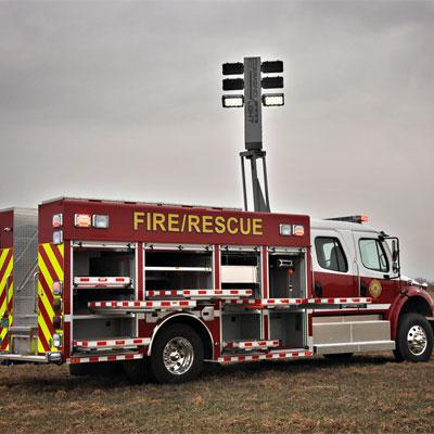 SVI Trucks Medium Rescue Demo truck