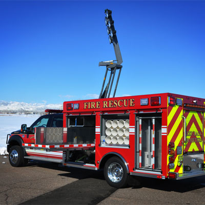 SVI Trucks Norman Wells, NWT FD – Light Rescue truck