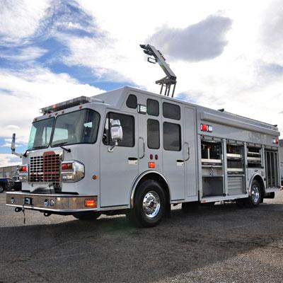 SVI Trucks Red Deer, AB – Heavy Rescue fire-fighting vehicle