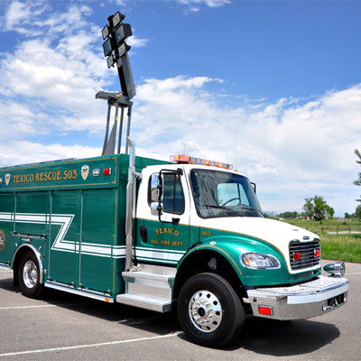 SVI Trucks Texico, NM FD – Medium Rescue truck