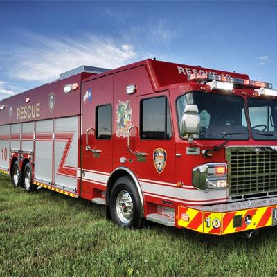 SVI Trucks TX Fire Department – Heavy Rescue