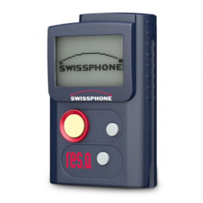 Swissphone Res Q alerting terminal for fire/rescue service