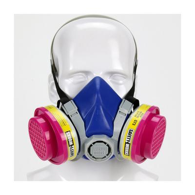 Protective Industrial Products SWX00320 Half-Mask Multi-Purpose Respirator - Retail Packaged