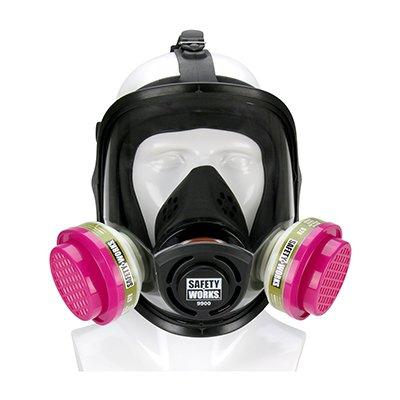Protective Industrial Products SWX00328 Full Facepiece PRO Multi-Purpose Respirator