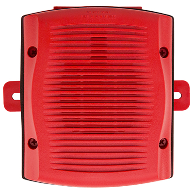 System Sensor SPRK red outdoor wall speaker
