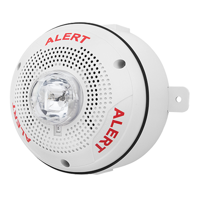 System Sensor SPSCWK-CLR-ALERT outdoor speaker strobe