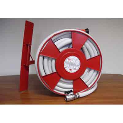 TÜZBIZTONSAG 2000 LUX-AD33S HOSE REEL WITH WALL PLATE