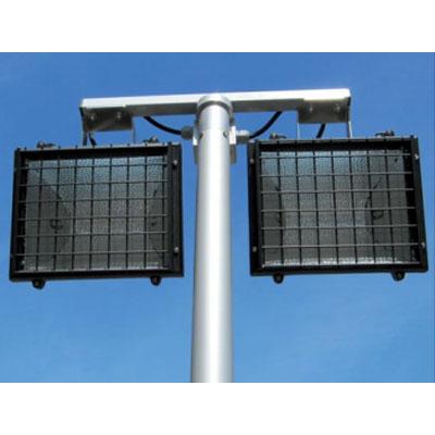 Teklite 2 x 300 Watt Halogen double lamp unit