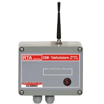 Telefunkalarm AL6SLGSM wireless alarm with integrated radio module analog