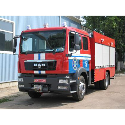 Tital AC 4070 fire fighting vehicle