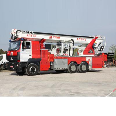Tital ALP-45 fire fighting aerial ladder platform
