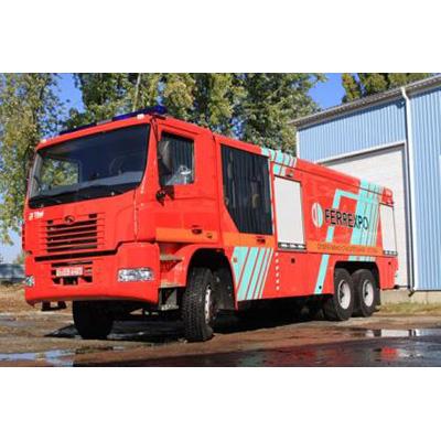 Tital AC 13070 fire fighting vehicle