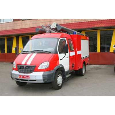 Tital Kasatka fire fighting diesel engine vehicle