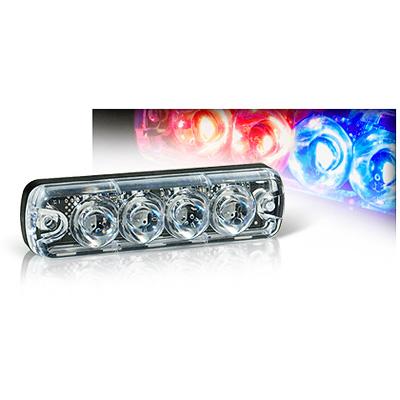 Tomar Electronics RECT-14LS dual channel mini LED warning light