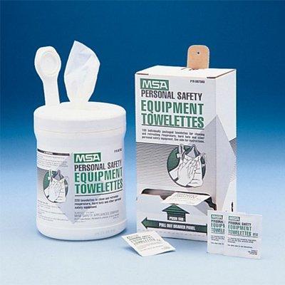 MSA 697383 Towelettes, Box Of 100, White