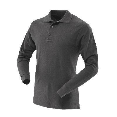 TRU-SPEC #4458 Men's Long Sleeve Classic 100% Cotton Polo