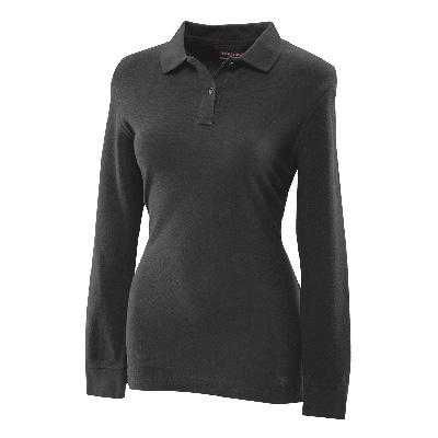 TRU-SPEC #4474 Ladies' Long Sleeve Classic 100% Cotton Polo