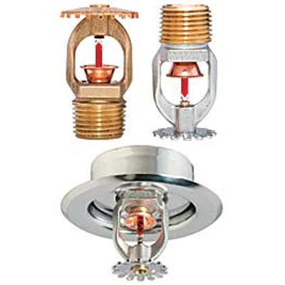 Tyco TY323 pendent fire sprinkler