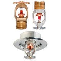 Tyco TY325 pendent fire sprinkler