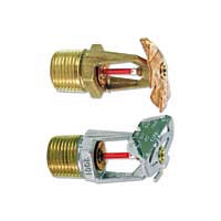 Tyco TY3331 horizontal fire sprinkler