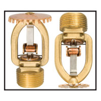 Tyco TY4911 pendent fire sprinkler