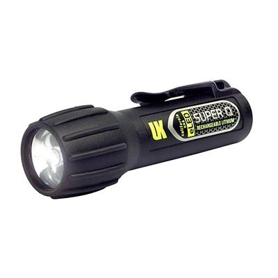 Underwater Kinetics Super Q® eLED rechargeable flashlight