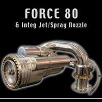 Unifire Force 80 integ jet/spary nozzle