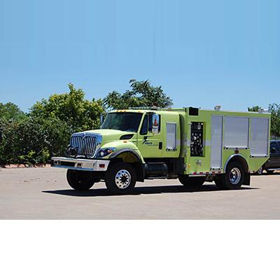 Unruh RENEGADE CAV-5500 ARFF RIV pump-driven truck