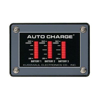 Kussmaul Electronics Co. Inc. 091-118-022-12E Auto Charge 20 /Euro Charger III Triple Bar Graph Display