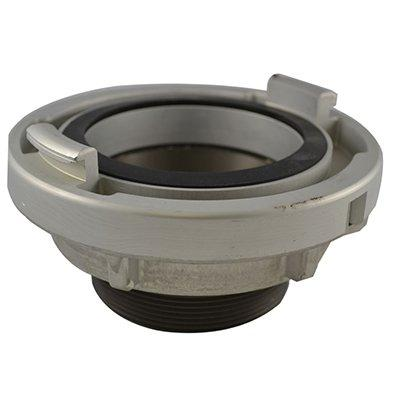 """South park corporation ST86-6060NH ST85, 6"""" Storz X 6"""" National Standard Thread (NST) Male, Adapter, Alumin Hardcoated"""