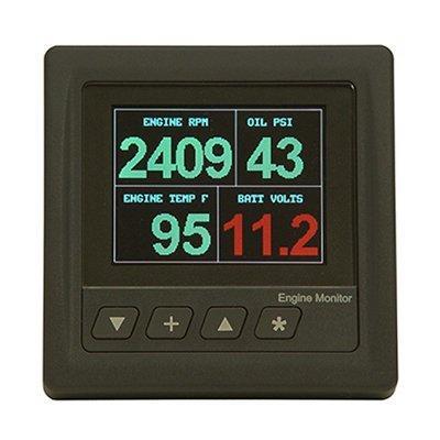 Kussmaul Electronics Co. Inc. 023-4400-0 Engine Monitor (VOTT METER)