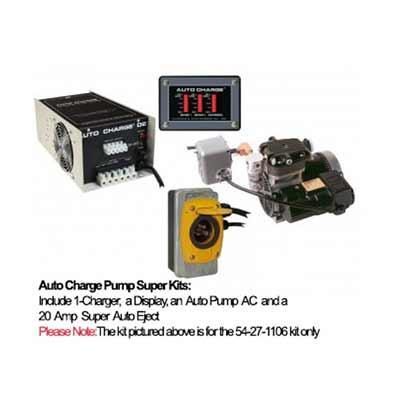 Kussmaul Electronics Co. Inc. 57-27-1106 Auto Charge Pump Super Kit 57-27-1106