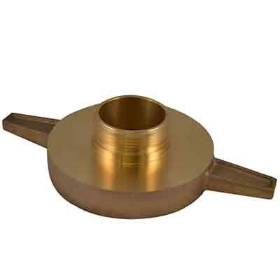 South park corporation LHA4094AB LHA40, 6 National Standard Thread (NST) Female X 4.5 National Standard Thread (NST) Male Brass, Adapter, Long Handle Tested to 500 psi