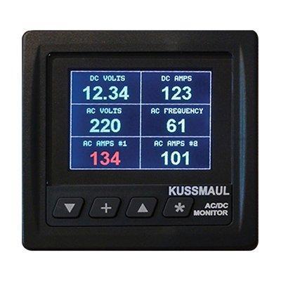 Kussmaul Electronics Co. Inc. 091-247 Generator AC/DC System Monitor (VAAFH AC/DC Meter)
