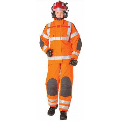 Bristol Uniforms LRF/BC_53OR and LTRF/N_F53OR urban search and rescue coat and trouser (female)