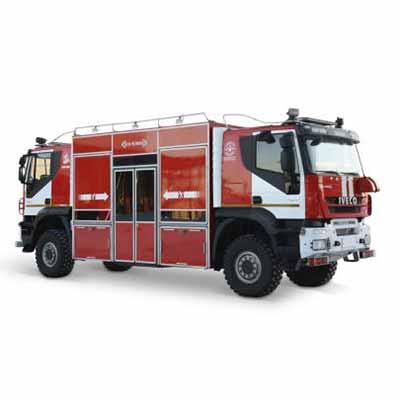 Vargashi AC-3,0-40 (KAMAZ-43502) -26VR.1 fire rescue vehicle