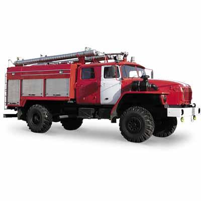 Vargashi AC-3,0-40 (URAL-43206) -14BVR fire truck