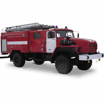 Vargashi AC-4,0-40 (URAL-5557) -9VR fire truck