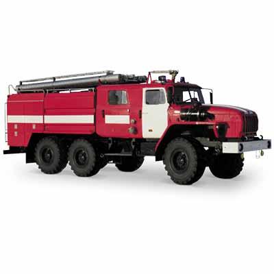 Vargashi AC-5,0-40 (URAL-5557) -11VR fire truck