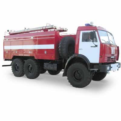 Vargashi AC-6,0-40 (KAMAZ-5350)  fire truck