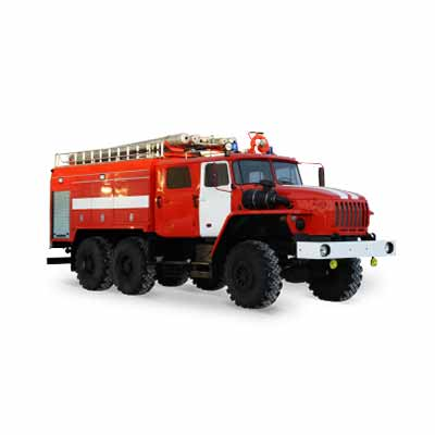 Vargashi AC-6,0-40 (URAL-5557) -10VR fire truck