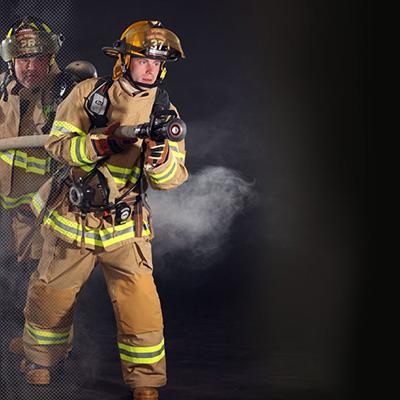 Veridian Valor fire fighter gear