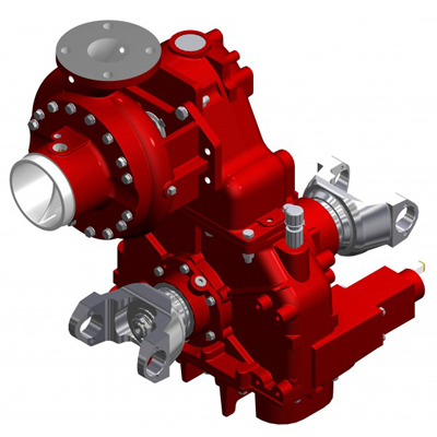 Waterous CGVGC20D single stage fire pump