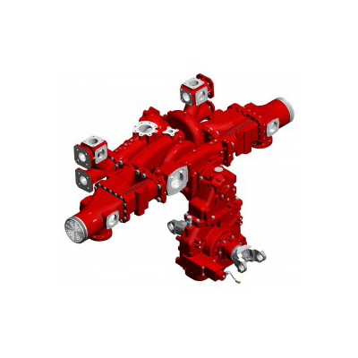 Waterous CMUC20C two-stage / parallel fire pump