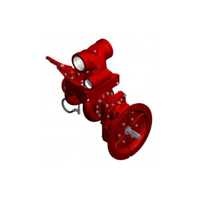 Waterous CPT-3 two-stage fire pump