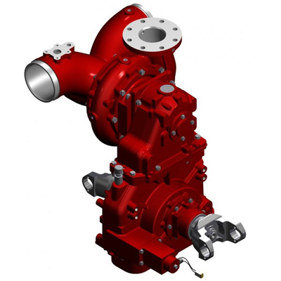 Waterous CXND single stage centrifugal fire pump