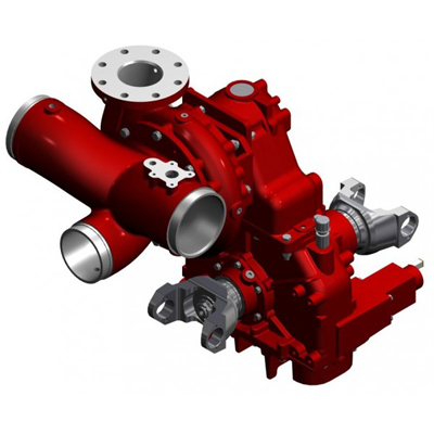 Waterous CXVC20D single stage fire pump