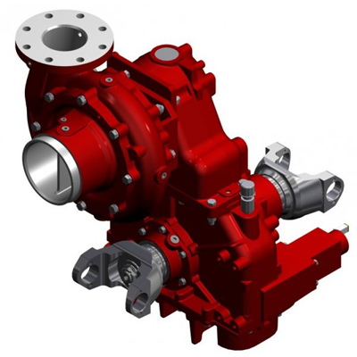 Waterous CXVT single stage fire pump