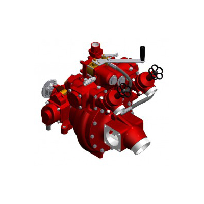 Waterous HL400 vehicle mounted fire pump