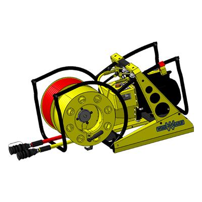 Weber Hydraulik E 50 T-SAH 15 COAX power unit